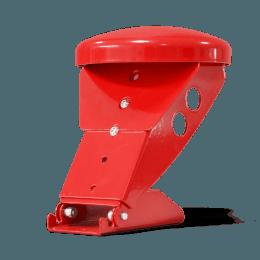 Der von rotstahl® entwickelte flexible Helmhalter ist höhenverstellbar, kippbar und komplett aus Stahl gefertigt. Er kann auf verschiedene Feuerwehrspinde, Einsatzspinde und Feuerwehrschränke nachgerüstet werden.