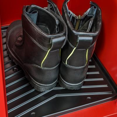 Spinde bleiben sauber mit Schuhschalen