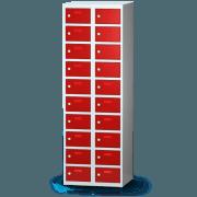 Wertfachschrank - Kleingefachschrank mit 20 Fächern, ein Spind für Wertsachen