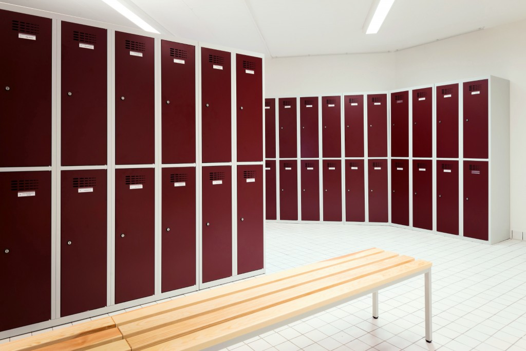 Garderobenschränke für Mitarbeiterumkleide, St. Elisabeth Alten- und Pflegeheim Nürnberg