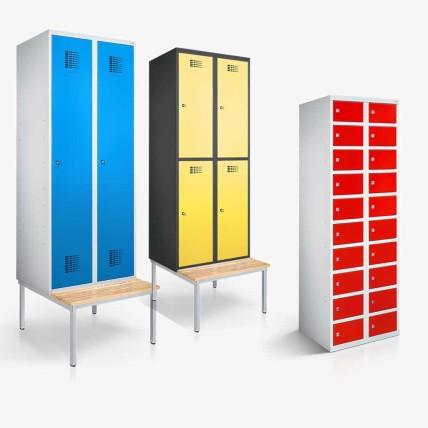 Kleiderspind, Garderobenschrank und Wertfachschrank | rotstahl