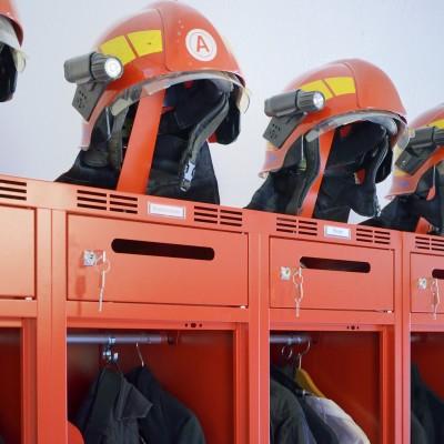 Feuerwehrspinde Feuerwehrschränke Spinde für Feuerwehr