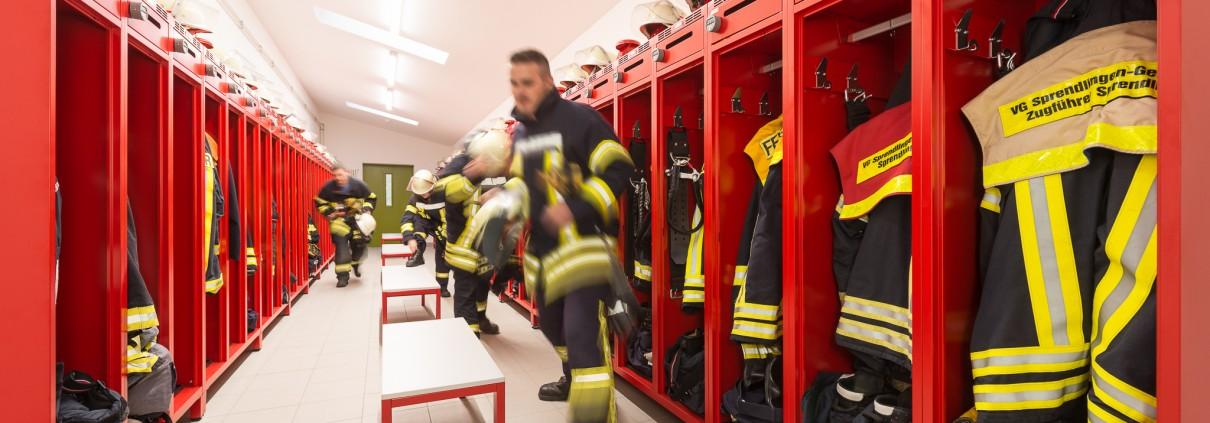 Feuerwehrspinde & Feuerwehrschränke - Wenn jede Sekunde zählt, machen Details den Unterschied.