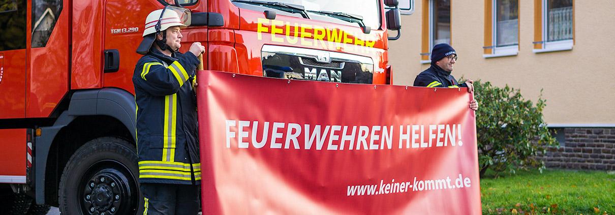 Feuerwehren beim Mitgliedermangel helfen