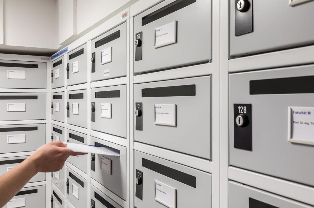 Dokumente können jederzeit zugestellt werden.