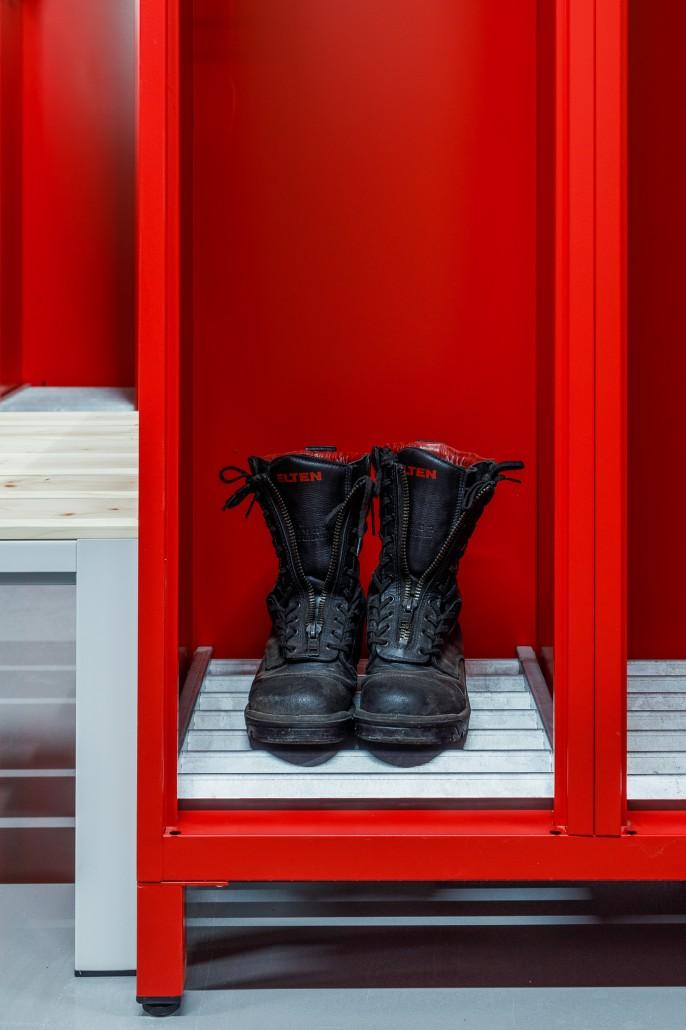 Schuhrost erleichtert die Trocknung von Schuhen und Kleidung