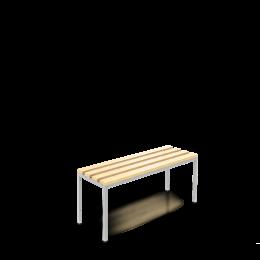 freistehende Sitzbank 100cm
