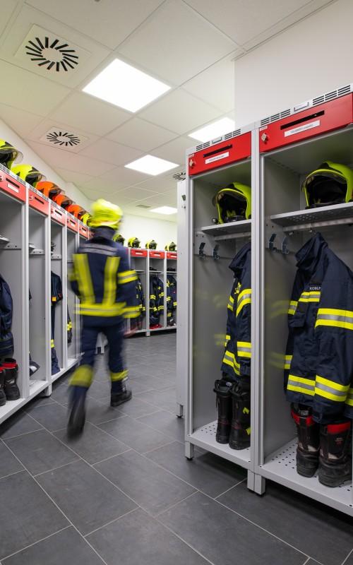 Feuerwehrspind KOMFORT mit Wertfach von rotstahl | Feuerwehr Marchtrenk