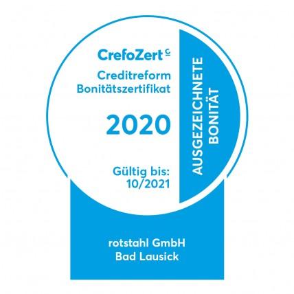 CrefoZert rotstahl 2020