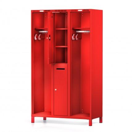 Feuerwehrspind DUO – Privatabteil mit Einlegeböden| rotstahl®