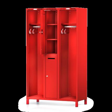 Feuerwehrspind DUO – Privatabteil mit Einlegeböden   rotstahl®