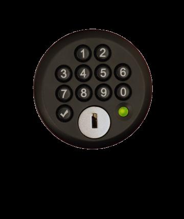 Digitales Codeschloss für feste und wechselnde Benutzer | rotstahl
