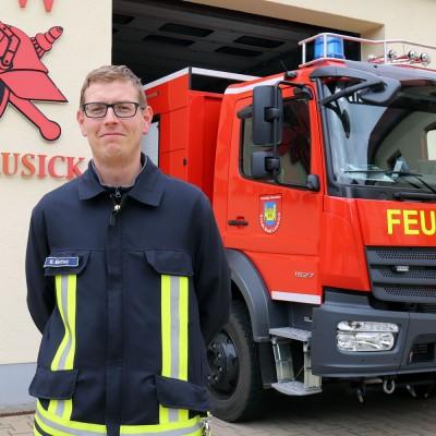 rotstahl-Fachberater ist stellvertretender Wehrleiter Bad Lausick