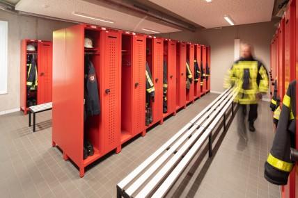 Feuerwehrspind DEVIS in der Feuerwache Altenbochum | rotstahl